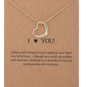 Jewelry - Open Heart ❤️ Necklace